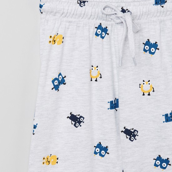 MAX Printed T-shirt with Elasticated Joggers