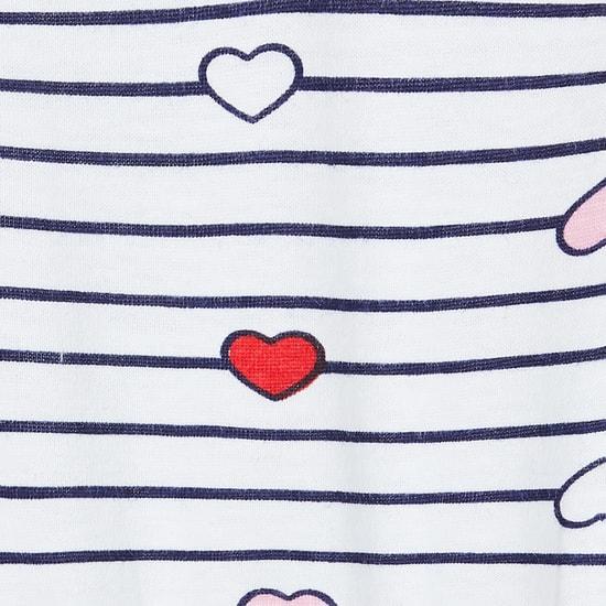 MAX Striped Lounge T-shirt with Pyjama Pants