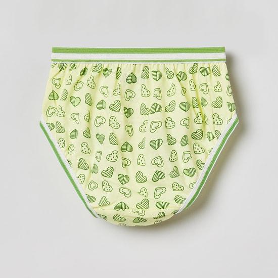 MAX Printed Hipster Panties - Pack of 3