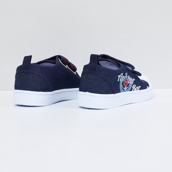 MAX Printed Velcro Closure Shoes