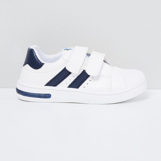 MAX Low-Top Casual Shoes with Velcro Closure