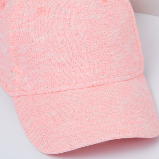 MAX Eyelet Embroidered Cap with Adjustable Strap