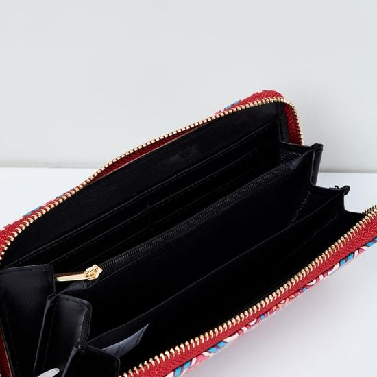 MAX Printed Zip-Closure Wallet