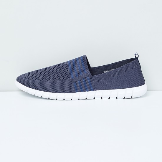 MAX Mesh Detail Slip-On Casual Shoes