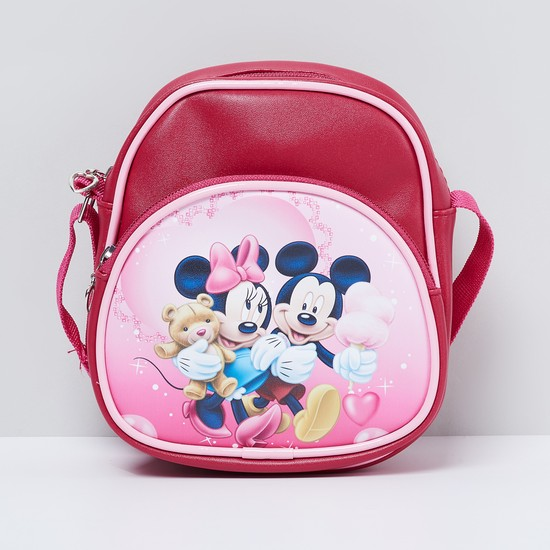 MAX Mickey & Friends Print Sling Bag