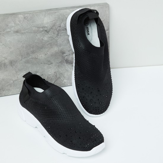 MAX Embellished Casual Slip-on Shoes