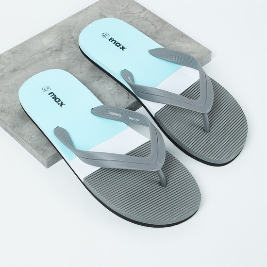MAX Colourblocked Flip-Flops