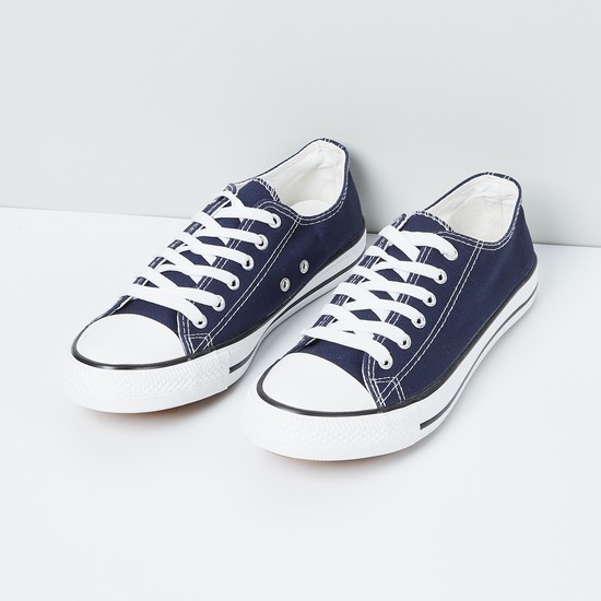 MAX Denim Lace-Up Casual Shoes