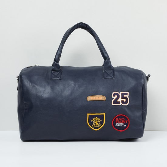 MAX Duffle Bag with Applique