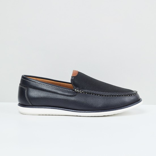 MAX Textured Casual Loafers
