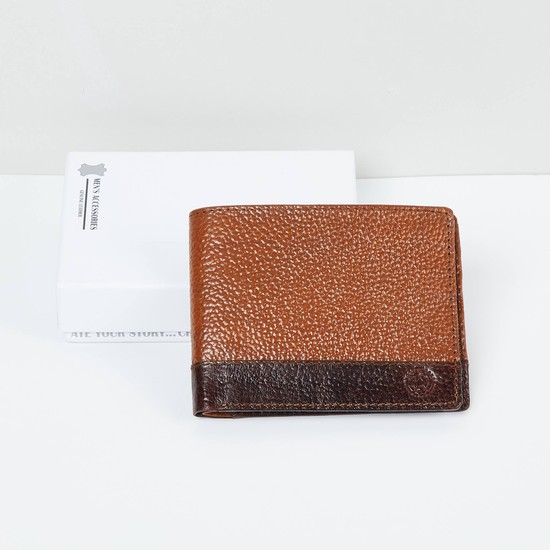 MAX Colourblocked Bi-Fold Wallet