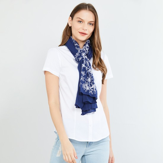 MAX Printed Woven Scarf