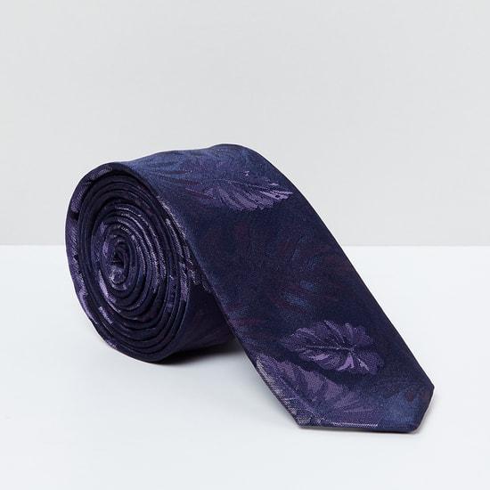 MAX Floral Print Slim Tie