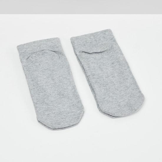 MAX Patterned Ankle Length Socks - Set Of 2