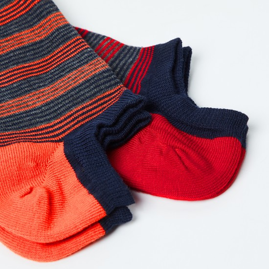 MAX Striped Socks- Set of 2