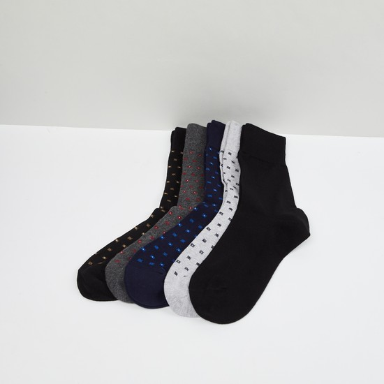 MAX Jacquard Socks - Pack of 5