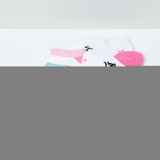 MAX Assorted Woven Design Socks