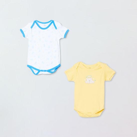 MAX Printed Bodysuits - Pack of 2