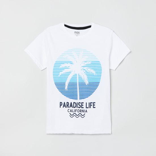 MAX Graphic Print Short Sleeves T-shirt