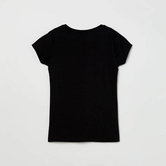 MAX Star Print Round-Neck T-shirt