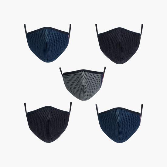 MAX Kids 3-Layered Anti-Bacterial FFP Masks - Pack of 5 Pcs. - 3-6 Yrs