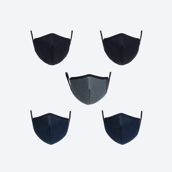 MAX Kids 3-Layered Anti-Bacterial FFP Masks - Pack of 5 Pcs. - 7-10 Yrs