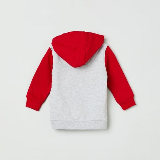 MAX Embroidered Hooded Sweatshirt