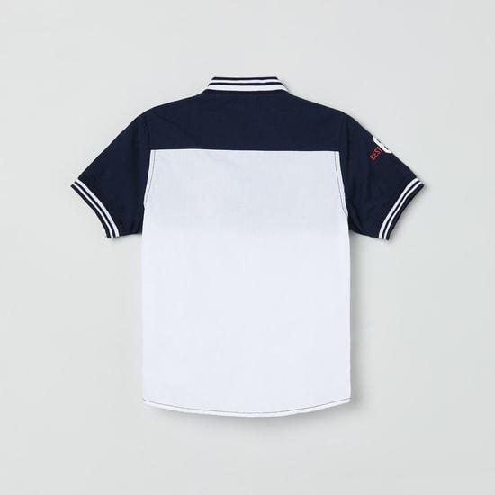 MAX Colorblocked Half-Sleeves Shirt