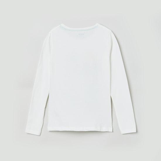 MAX Printed Full Sleevess T-shirt