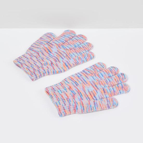 MAX Yarn-Dyed Flat-Knit Gloves