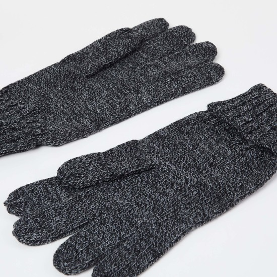 MAX Patterned Knit Gloves