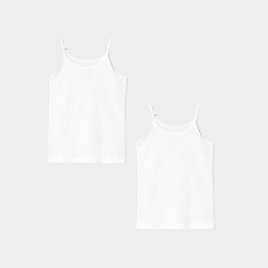 MAX Solid Camisoles - Pack of 2