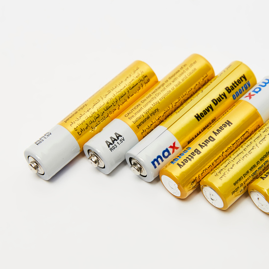 Heavy Duty AAA Battery - 30 Pieces