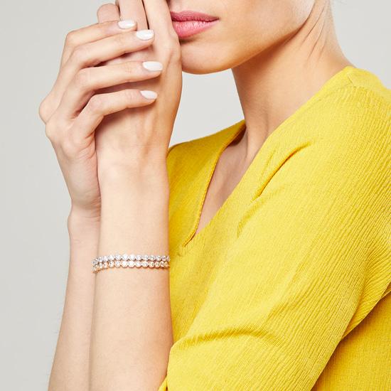 Set of 2 - Studded Bracelets with Adjustable Slide Closure