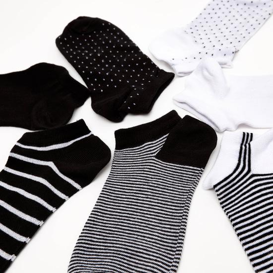 Pack of 7 - Striped Ankle Length Socks