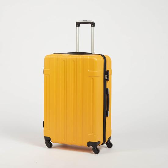 شنطة سفر صلبة بعجلات بمقبض قابل للسحب