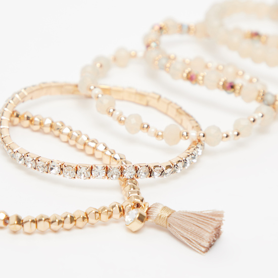 Set of 6 - Beaded Bracelet