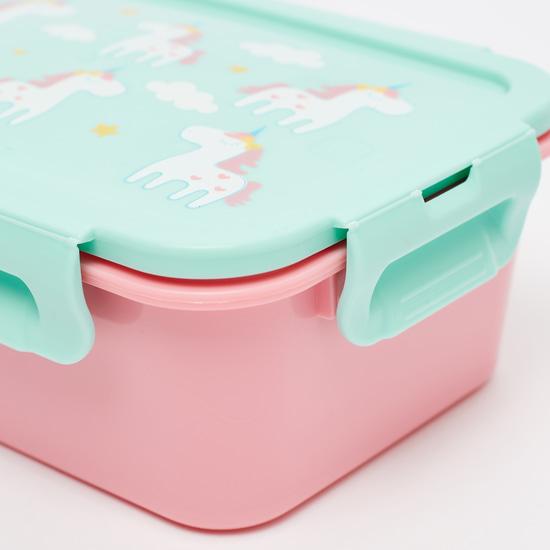 Unicorn Print Lunch Box - 1100 ml