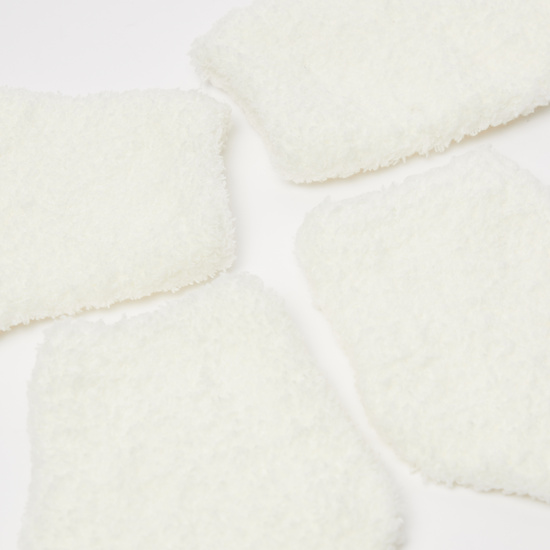 Set of 2 - Textured Ankle Length Socks