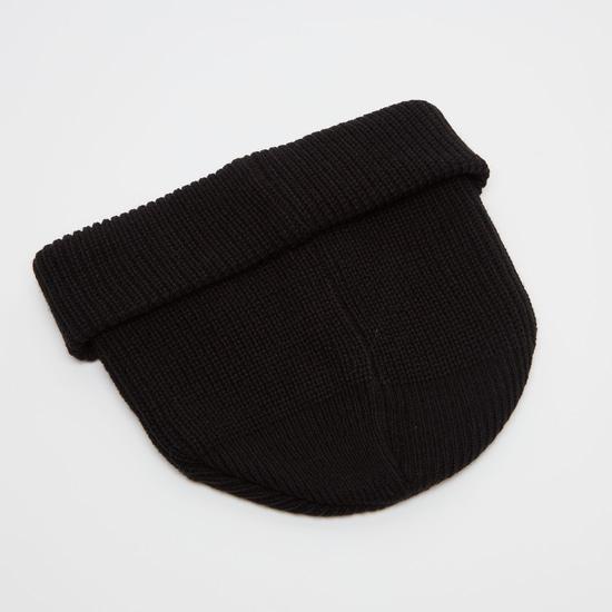 Ribbed Beanie Cap
