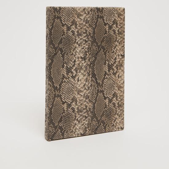 Reptilian Print Single Ruled Notebook