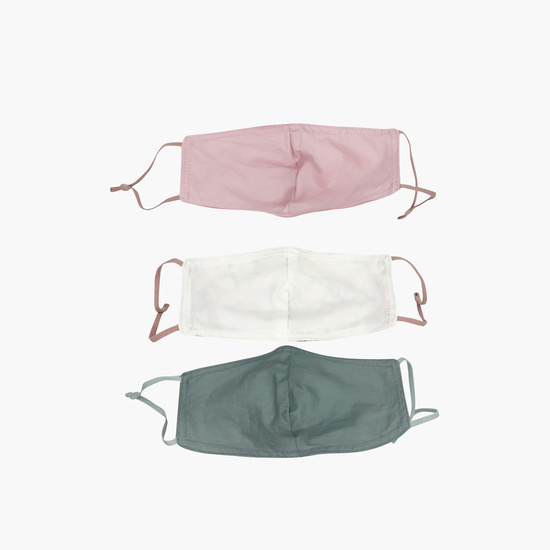 Set of 3 - Assorted Anti-Dust Reusable Face Mask