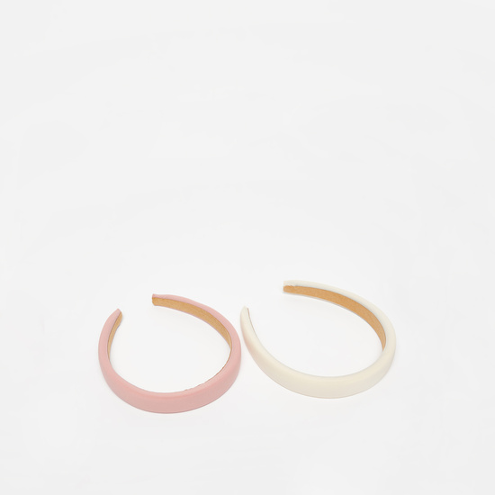 Set of 2 - Solid Hairband