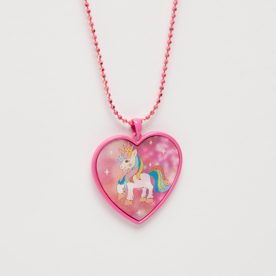 Unicorn Pendant Necklace with Lobster Clasp