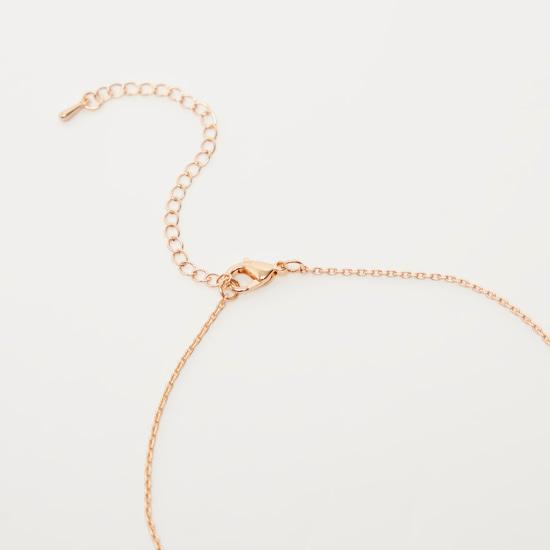 Studded Star Necklace and Adjustable Bracelet Set