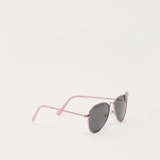 نظارة شمسية بإطار كامل وطبعات وتزيينات ميني ماوس