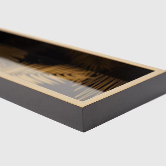صينية ديكور خشبية