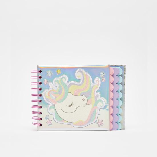 Unicorn Print Spiral Bind Notebook