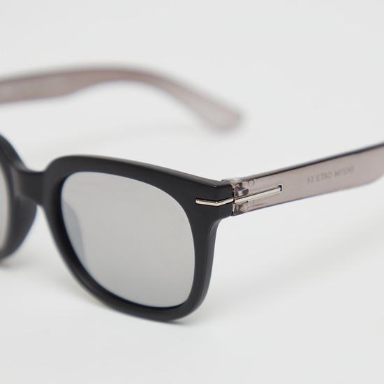 Full Rim Solid Sunglasses
