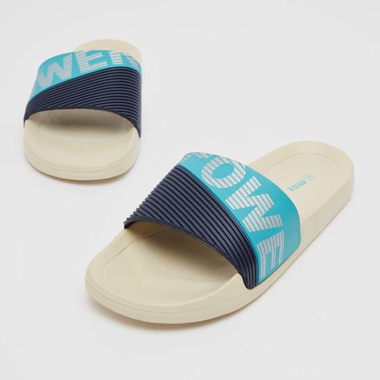 حذاء خفيف سهل الارتداء بارز الملمس بشريطة